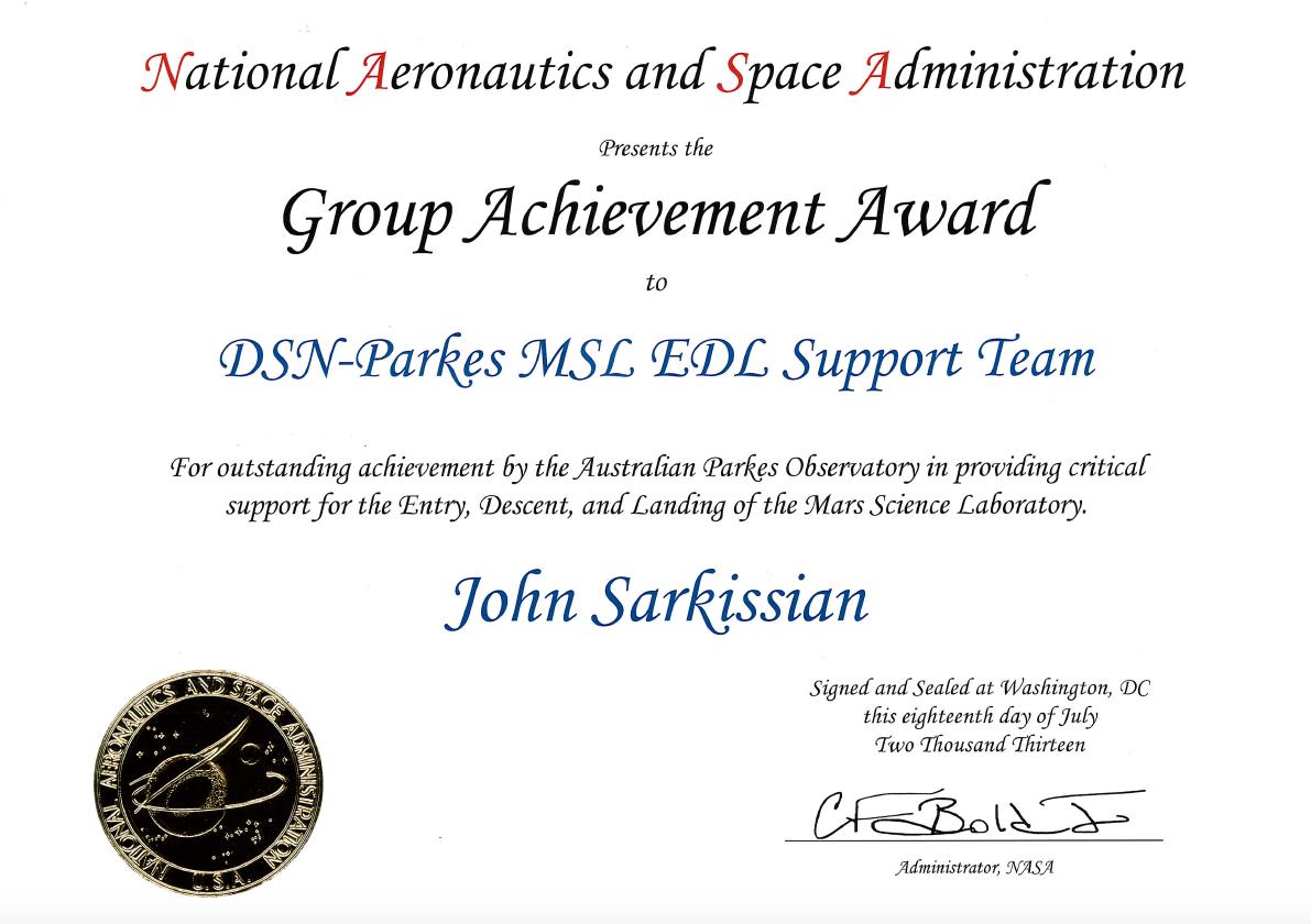 NASA - EPOXI Mission - Gallery |Group Achievement